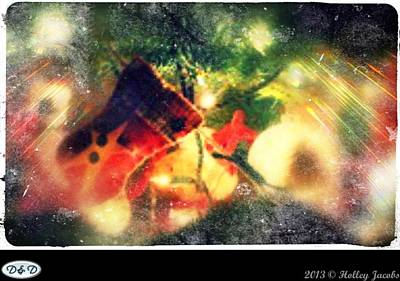 Digital Art - Merry Christmas Darling by Holley Jacobs