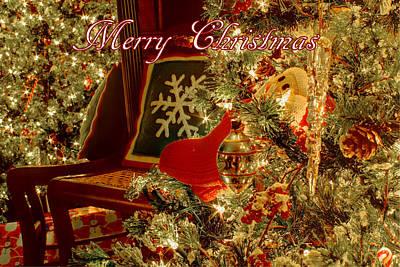 Photograph - Merry Christmas by Deb Buchanan