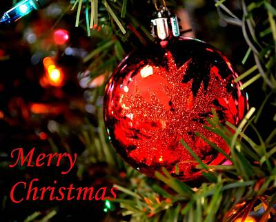 Photograph - Merry Christmas by Deena Stoddard