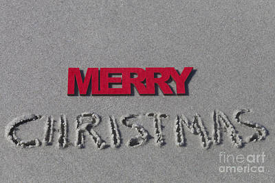 Photograph - Merry Christmas by Diane Macdonald