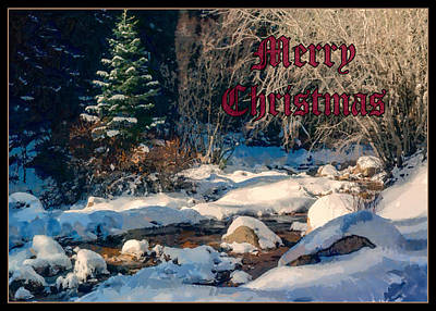 Digital Art - Merry Christmas by Ernie Echols