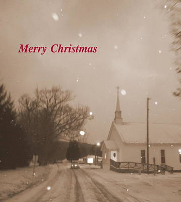 Photograph - Merry Christmas From Long Ago by Diannah Lynch