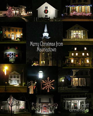 Photograph - Merry Christmas From Mauricetown by Nancy Patterson