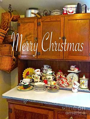 Photograph - Merry Christmas Hoosier   by Nancy Patterson