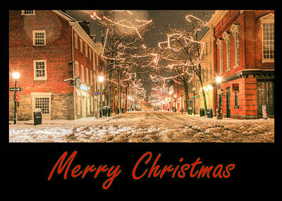 Photograph - Merry Christmas by JC Findley