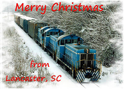 Photograph - Merry Christmas Lancaster by Joseph C Hinson Photography