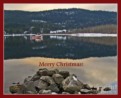 Photograph - Merry Christmas by Leone Lund