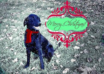 Digital Art - Merry Christmas by Mindy Bench