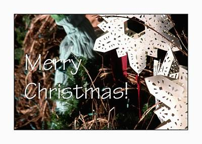 Photograph - Merry Christmas Ornament 0205 by Jerry Sodorff