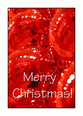 Jerry Sodorff Royalty-Free and Rights-Managed Images - Merry Christmas Red 5607 by Jerry Sodorff