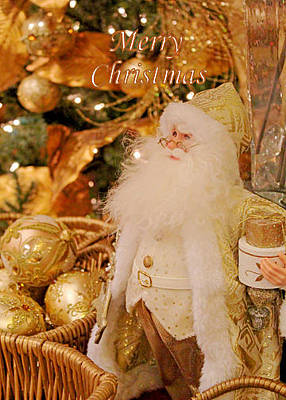 Photograph - Merry Christmas Santa by Deb Buchanan