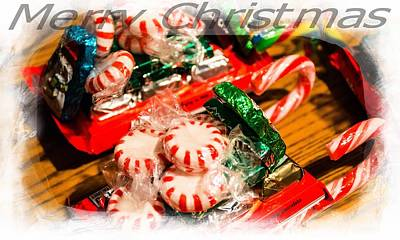 Photograph - Merry Christmas by Sherman Perry