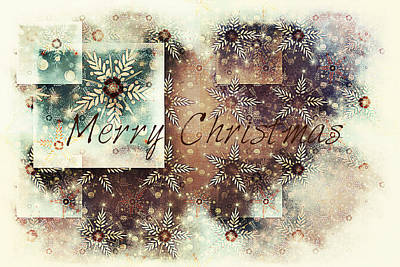Digital Art - Merry Christmas by Sherry Flaker