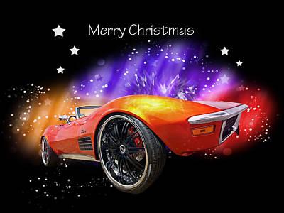 Photograph - Merry Christmas Stingray by Gill Billington