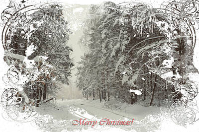 Photograph - Merry Christmas Time by Jenny Rainbow