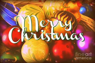 Digital Art - Merry Christmas by Valerie Reeves