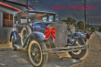 Merry Christmas Original by William Fields