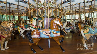 Photograph - Merry Go Around Dsc2963 by Wingsdomain Art and Photography