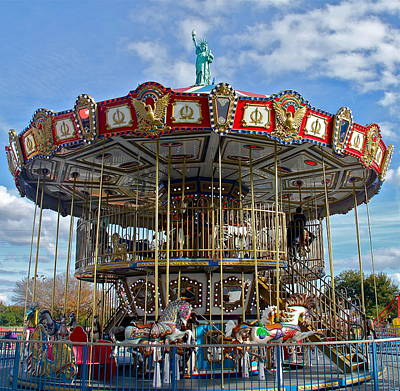 Photograph - Merry Go Round by Denise Mazzocco