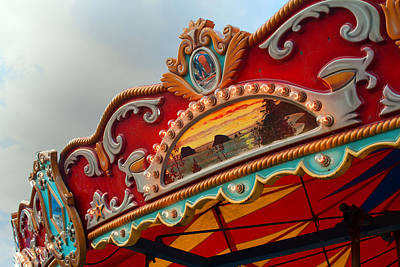 Photograph - Merry-go-round by Michael Porchik