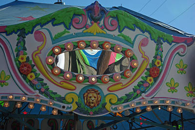 Photograph - Merry Go Round Reflections by Robyn Stacey