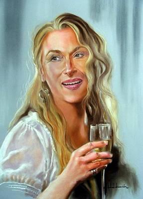 Meryl Streep Original by Ashok Karnik