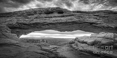 Mesa Arch Bw Original