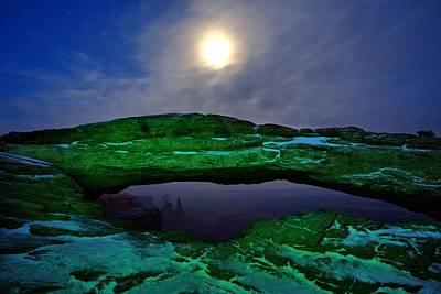 Superhero Ice Pop - Mesa Arch in Green by David Andersen