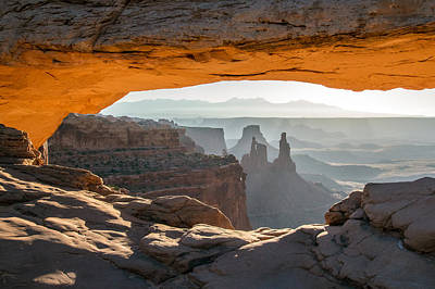 Photograph - Mesa Arch Morning View by Nicholas Blackwell