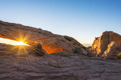 Photograph - Mesa Arch Sunrise 8 - Canyonlands National Park - Moab Utah by Brian Harig