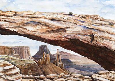 Mesa Arch Watercolor Original