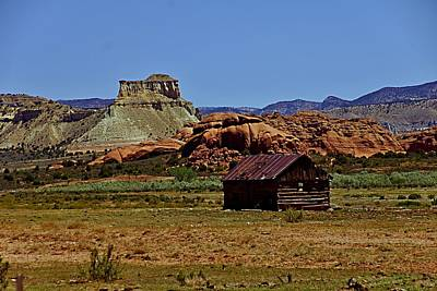Photograph - Mesa Cabin by Michael Courtney