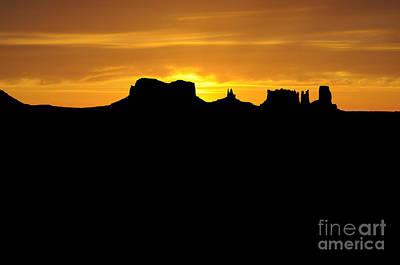 Photograph - Mesa Sunset by Brenda Kean