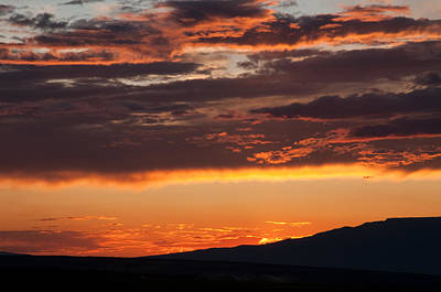 Photograph - Mesa Sunset  by Eric Rundle