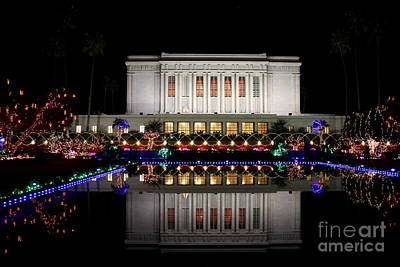 Art Print featuring the photograph Mesa Temple by Ruth Jolly