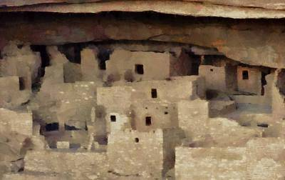 Archaeological Mixed Media - Mesa Verde by Dan Sproul