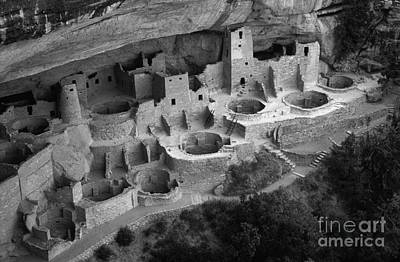 Mesa Verde Monochrome Art Print by Bob Christopher