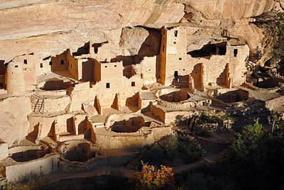Photograph - Mesa Verde Np-cliff Palace 04 by Jeff Brunton
