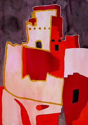 Mesa Verde Original Painting Sold Art Print