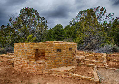 Photograph - Mesa Verde Ruins At Far View by Alan Toepfer