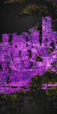 Digital Art - Mesa Verde Study 1 by David Hansen