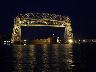 Duluth Photograph - Mesabi Miner by Alison Gimpel