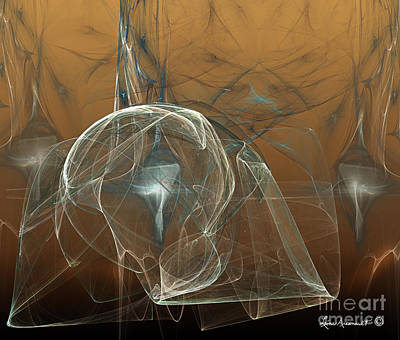 Digital Art - Meshed In by Leona Arsenault