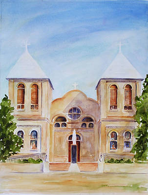 Mesilla Church Art Print