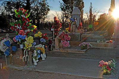 Photograph - Mesilla Nm Cemetery 14  by Jeff Brunton