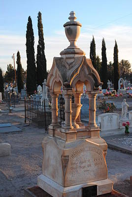 Photograph - Mesilla Nm Cemetery 26 by Jeff Brunton