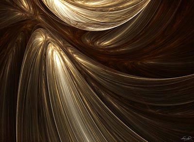 Light-brown Digital Art - Mesmerize by Lourry Legarde