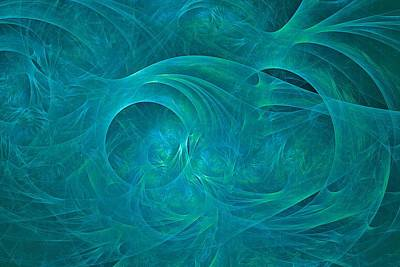 Digital Art - Mesozoic Fractosphere by Doug Morgan