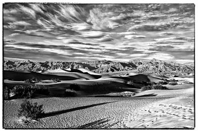 Photograph - Mesquite Dunes Infrared Img 4196 by Greg Kluempers