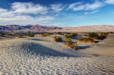Photograph - Mesquite Flat Dunes by Heidi Smith